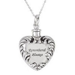 Remembered Always Ash Holder Necklace