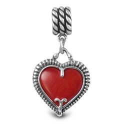 Heart of Texas Reversible Cable Charm