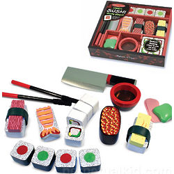 Wooden Sushi Play Set