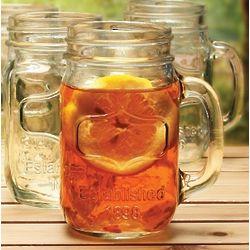 Southern Bell Mason Jar Glasses