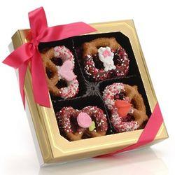 Valentine Box of Gourmet Pretzel Twists