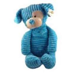 Cuddly Blue Plush Dog