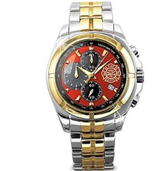 For My Firefighter Men's Chronograph Watch