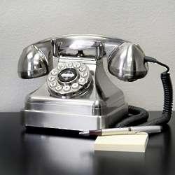 Silver Grand Retro Telephone