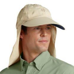 Men's Collar Clip Fishing Hat UPF 50+