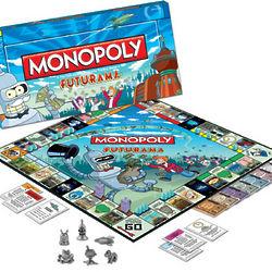 Futurama Monopoly Game