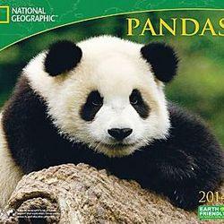 2014 Pandas Wall Calendar