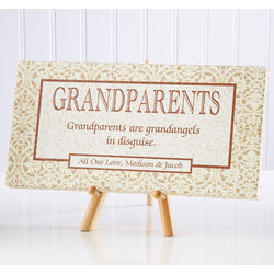 Gift of a Grandparent Personalized Canvas