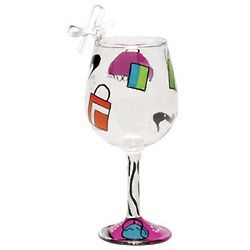 Shopaholic Too Mini Wine Ornament