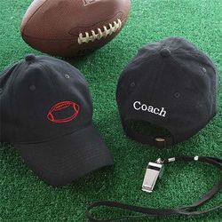 Personalized Black Sports Fan Cap