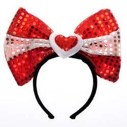 Valentine's Day Bow Headband