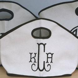 Monogrammed gg Canvas Bag