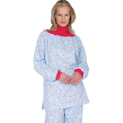 Snowflake Turtleneck Pajama Set