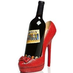 City Chic High Heel Wine Holder