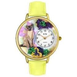 Siamese Cat Watch with Miniatures