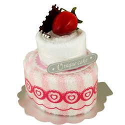Strawberry Layer Towel Cake