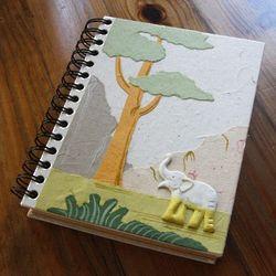 Mr. Ellie Pooh Elephant Poo Spiral Notebook