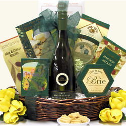 Savory Expressions Gourmet Wine & Cheese Gift Basket