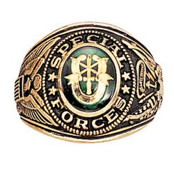 Gold-Plated Special Forces Ring