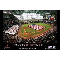 Personalized 24x36 Houston Astros Stadium Canvas