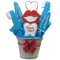Dentist's Thank You Cookie Bouquet