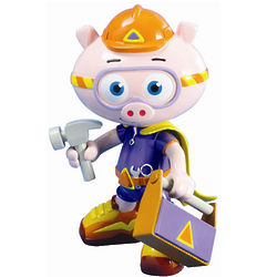 Super Why Alpha Pig Action Figure