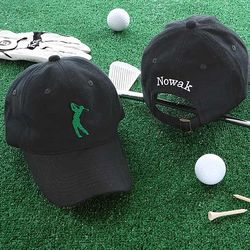 Golf Fan Personalized Cap