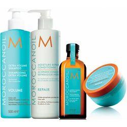 Restoractive Shampoo, Conditioner, Oil & Mask Set