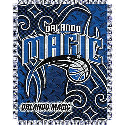 Orlando Magic Jacquard Woven Throw Blanket