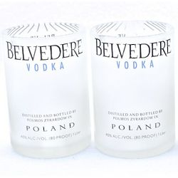 Belvedere Vodka Rocks Glasses