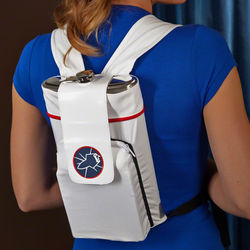 To Infinity Astronaut Backpack Flask