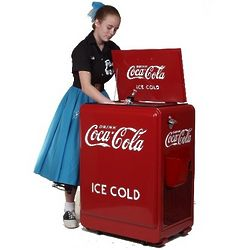 Coca-Cola Refrigerated Cooler Chest