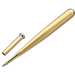 Personalized Gold Baseball Ballpoint Pen
