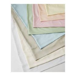 Bamboo Queen Flat Sheet in White