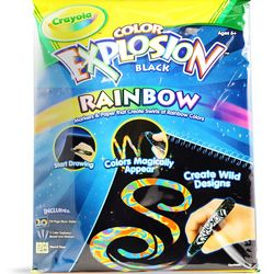 Crayola Color Explosion Rainbow Kit