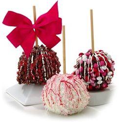 Valentine Chocolate Apple Trio