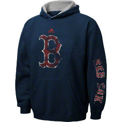 Boston Red Sox Navy Youth Vintage Fleece Hooded Sweatshirt