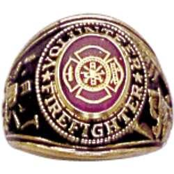 Volunteer Firefighter Ring