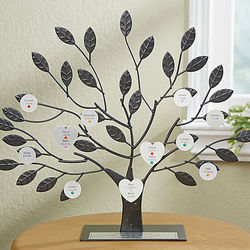 Personalized Birthstone Family Tree Sculpture