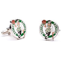 Boston Celtics Enamel Cufflinks