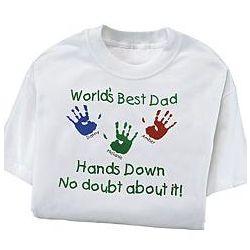 World's Best - Hands Down T-shirt
