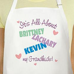 It's All About Personalized Apron