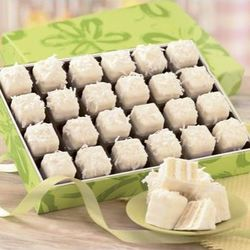 Coconut Petits Fours Gift Box