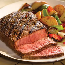 Six 8 oz. Top Sirloin Steaks