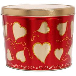 Sweet Hearts Gourmet Popcorn Gift Tin