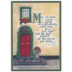 Irish Blessing Matted Print