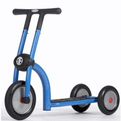 Blue Pilot 100 Scooter with 3 Wheels