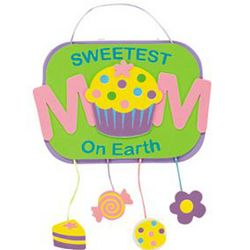 Sweetest Mom On Earth Sign Kit