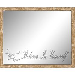 Reflective Moments Inspirational Believe in Yourself Mirror