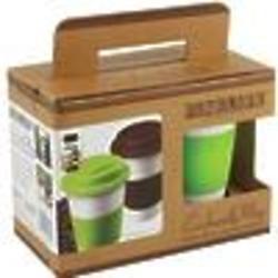 Set of 2 Eco-Friendly Travel Mugs